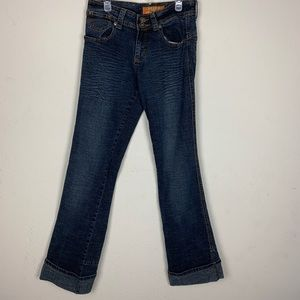 Apollo Jeans- Dark Wash Bootcut Jeans size 9